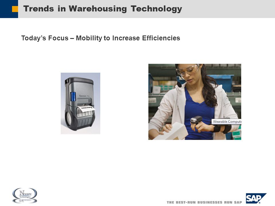 Trends in Warehousing Technology