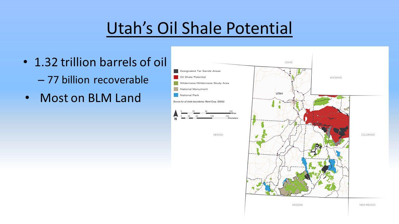 Utah's Oil Shale Potential