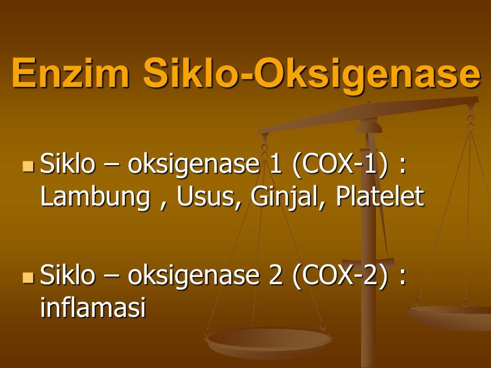 Enzim Siklo-Oksigenase