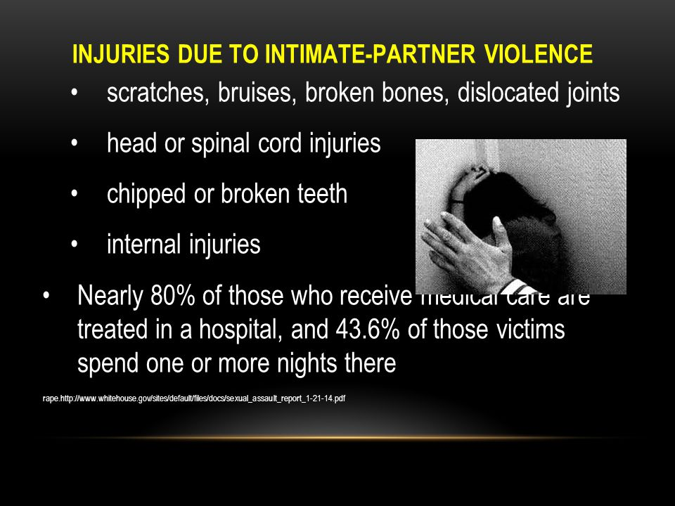 DAMAGES CAUSED BY DOMESTIC VIOLENCE