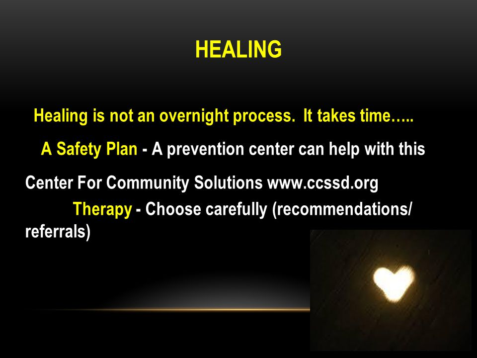 Healing - Continued Beyond Survivor - Is a Three Stage Process for healing developed by Rachel Grant Coach@rachelgrantcoaching.com or 415-513-0700.