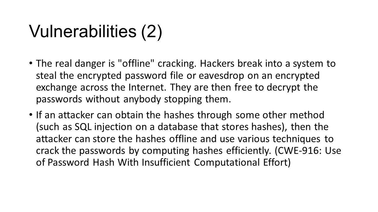Vulnerabilities (2)