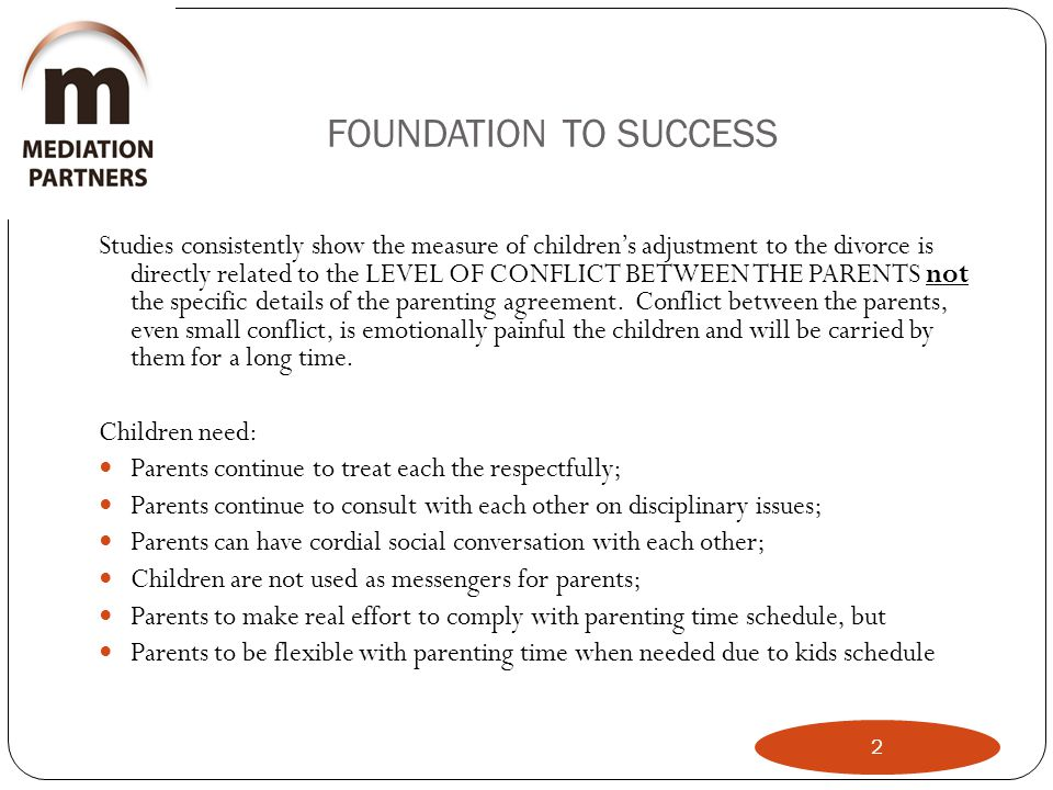 FOUNDATION TO SUCCESS