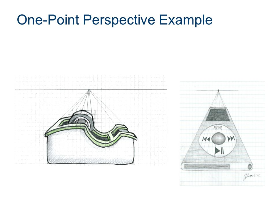 One-Point Perspective Example