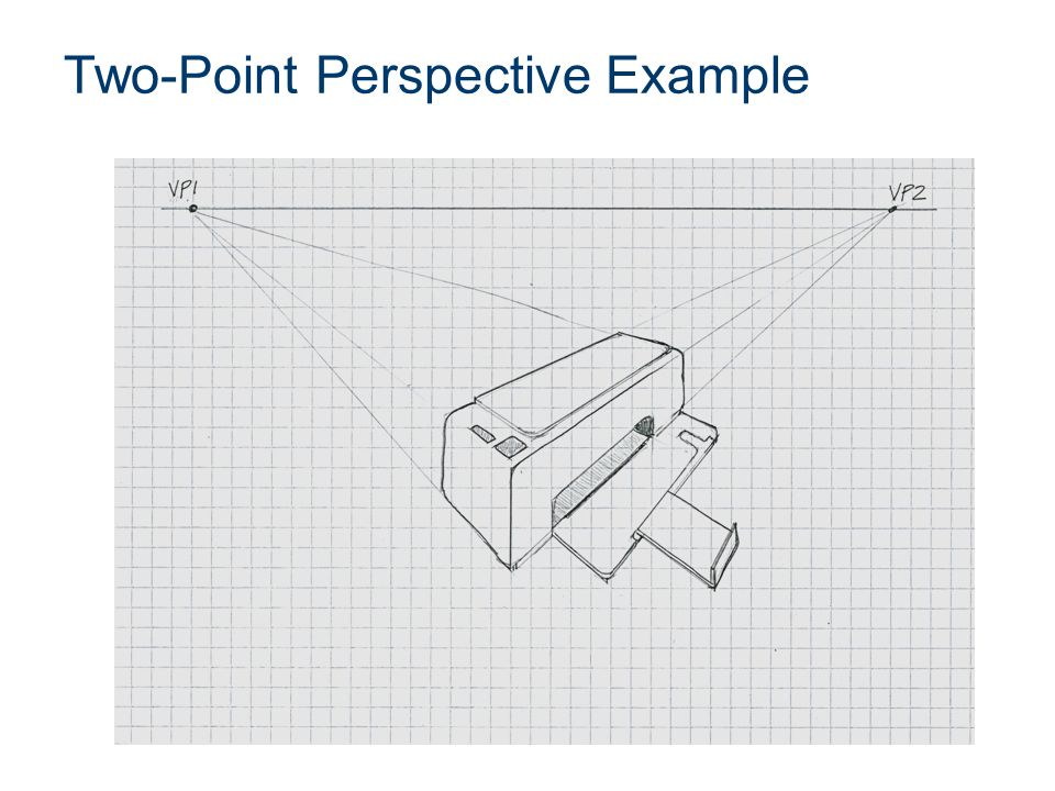 Two-Point Perspective Example