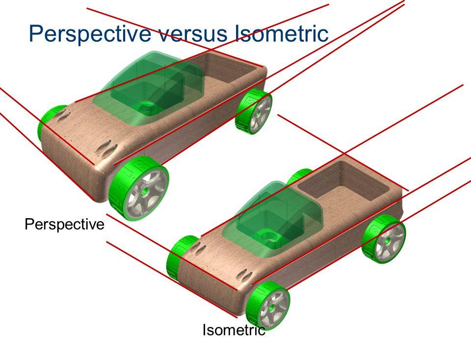 Perspective versus Isometric