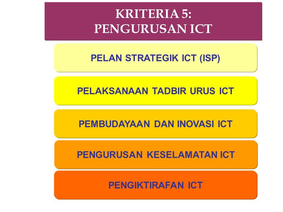 KRITERIA 5: PENGURUSAN ICT