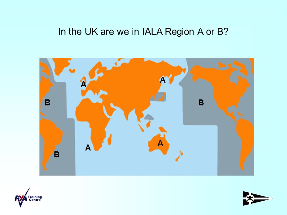 In the UK are we in IALA Region A or B
