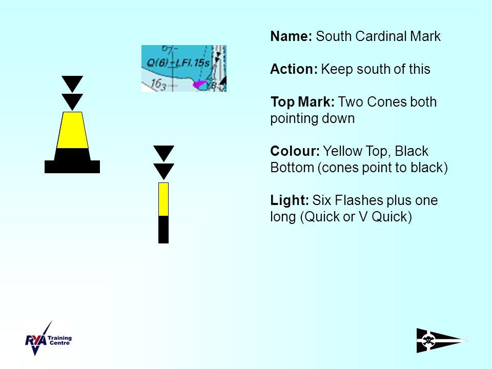 Name: South Cardinal Mark