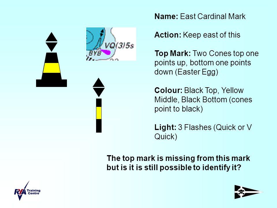 Name: East Cardinal Mark