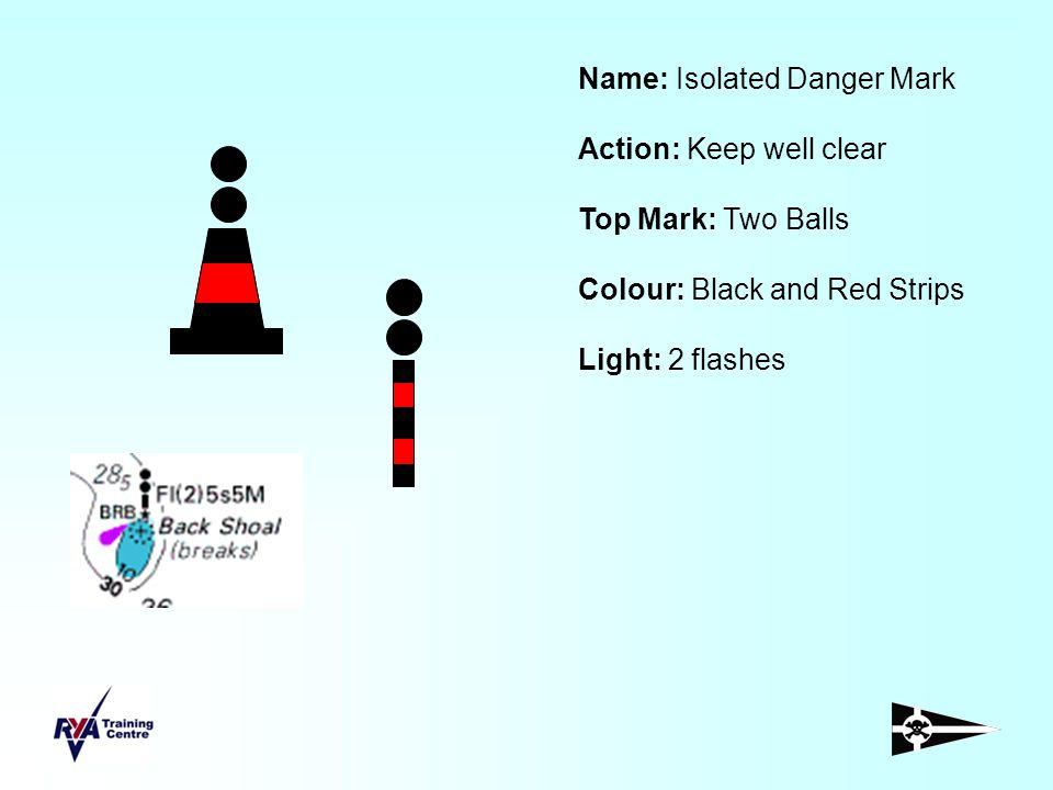 Name: Isolated Danger Mark