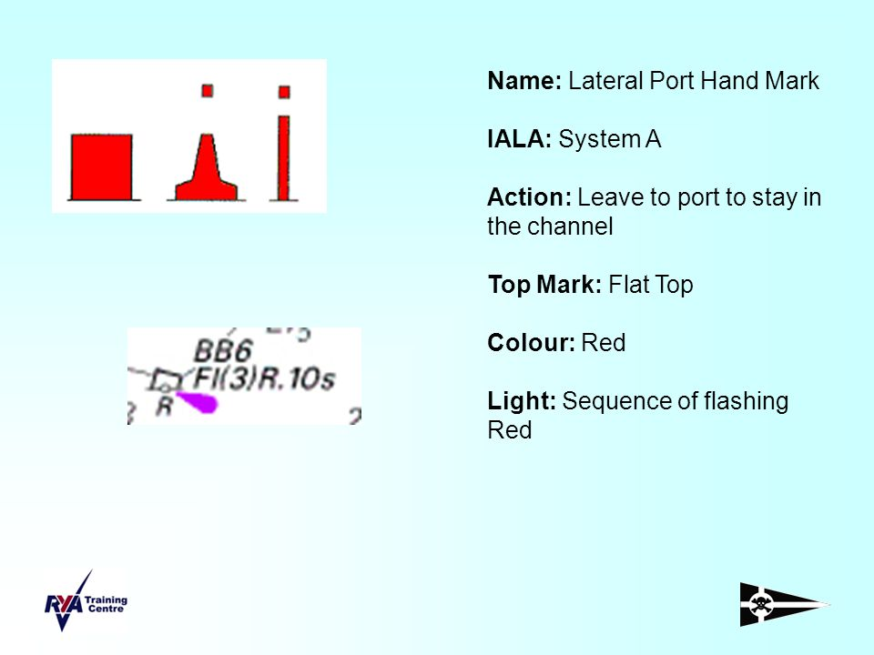 Name: Lateral Port Hand Mark