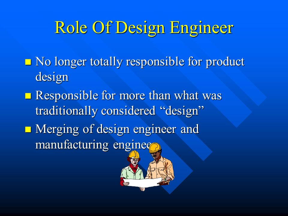 Role Of Design Engineer