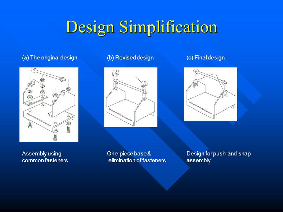 Design Simplification