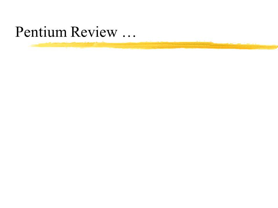 Pentium Review …