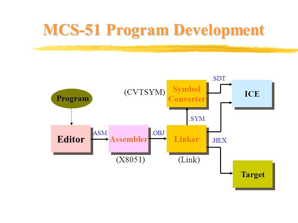 MCS-51 Program Development