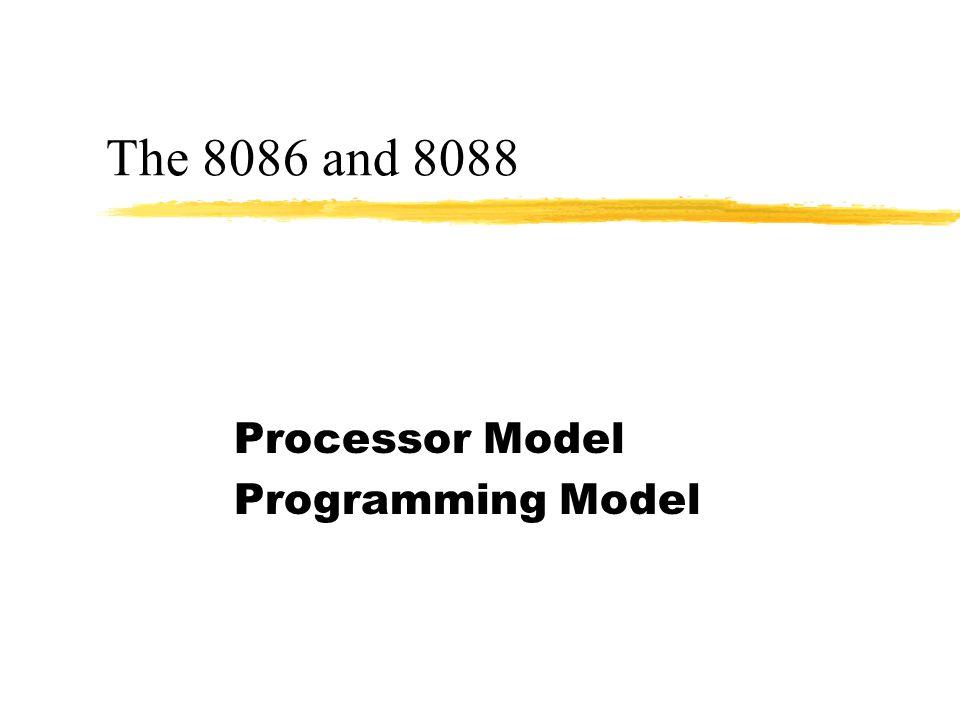 Processor Model Programming Model