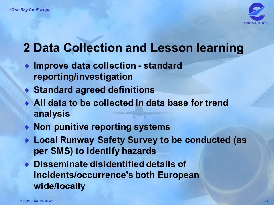 2 Data Collection and Lesson learning