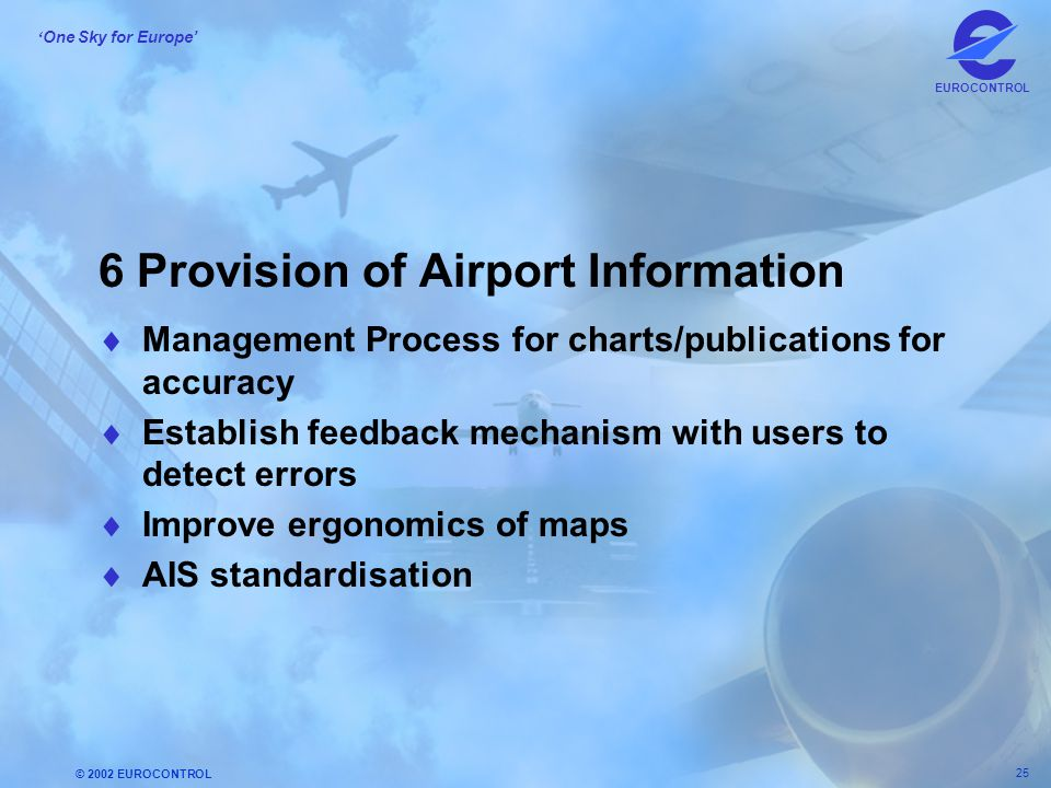 6 Provision of Airport Information