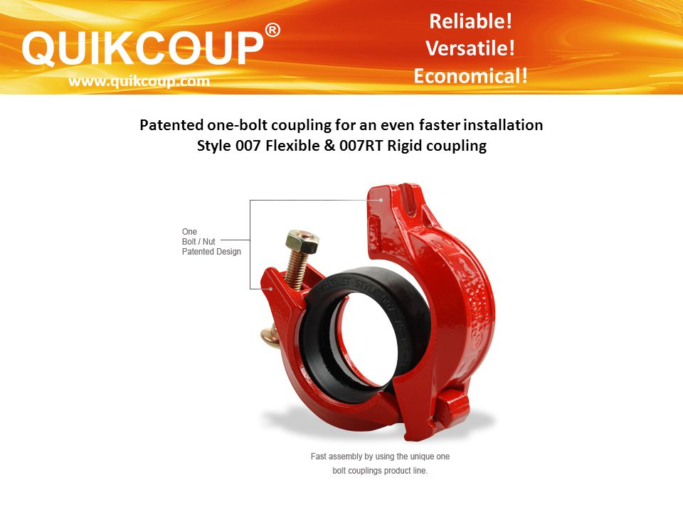 QUIKCOUP® Reliable! Versatile! Economical! www.quikcoup.com