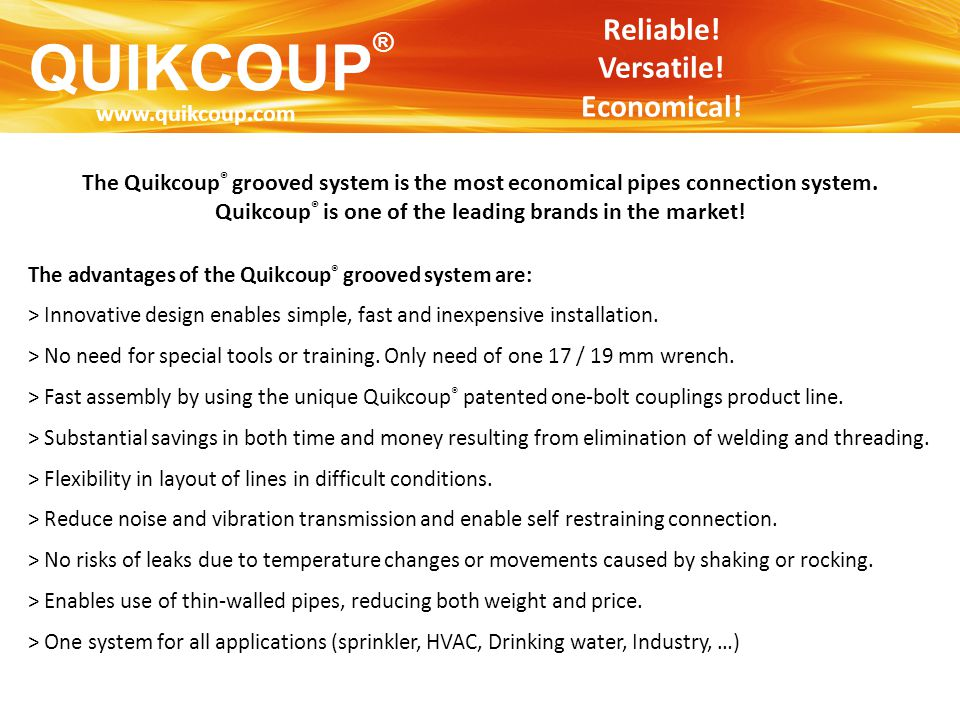 Quikcoup® is one of the leading brands in the market!