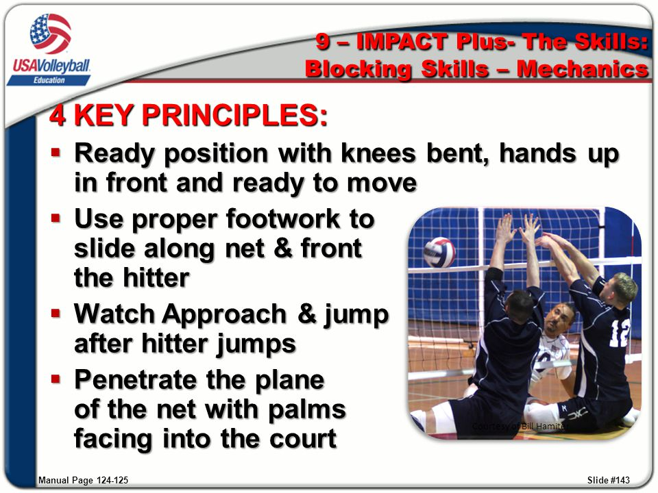 9 – IMPACT Plus- The Skills: Blocking Skills – Mechanics