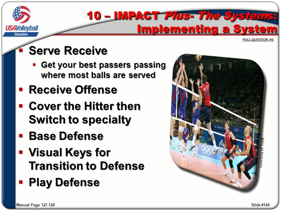 10 – IMPACT Plus- The Systems: Implementing a System