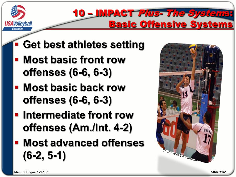 10 – IMPACT Plus- The Systems: Basic Offensive Systems