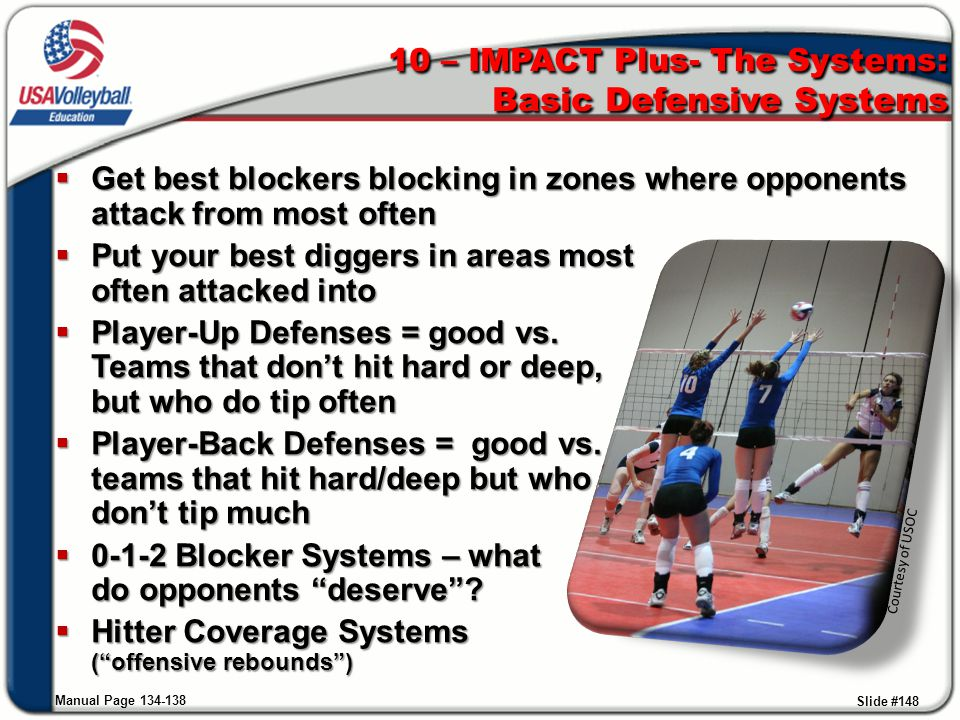 10 – IMPACT Plus- The Systems: Basic Defensive Systems
