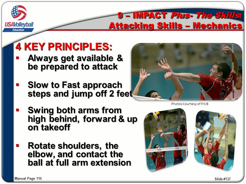 9 – IMPACT Plus- The Skills: Attacking Skills – Mechanics