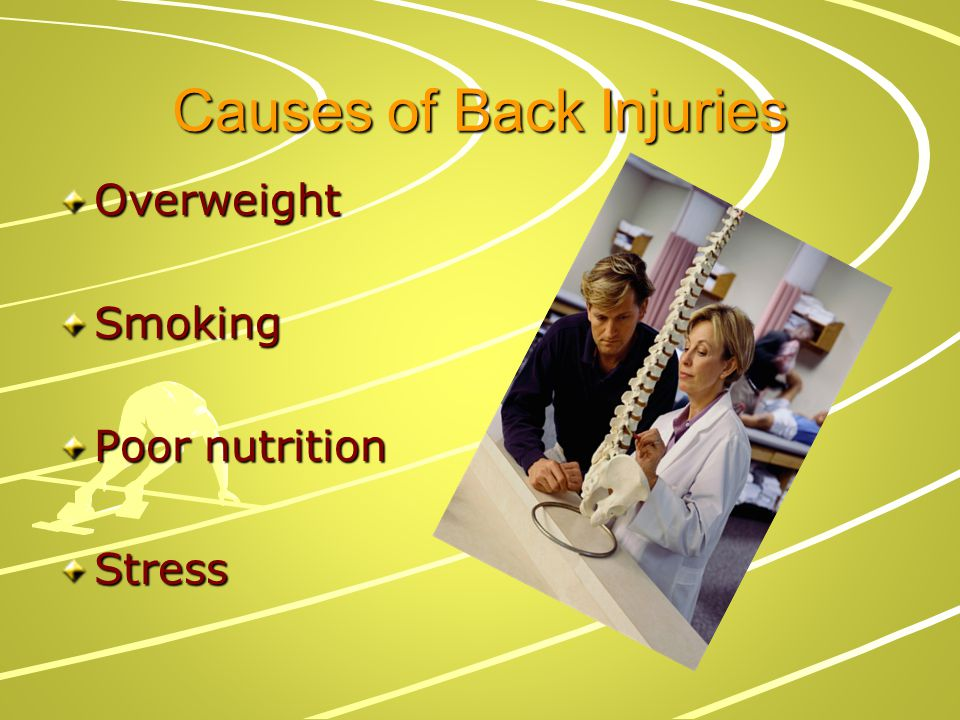 Causes of Back Injuries