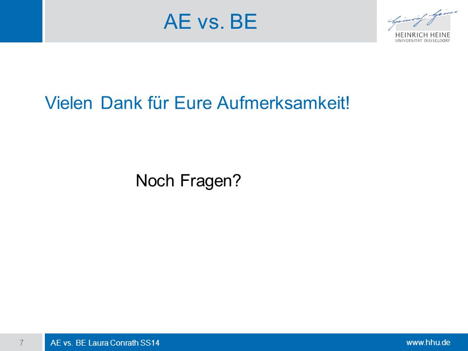 Ae Vs Be Ppt Download