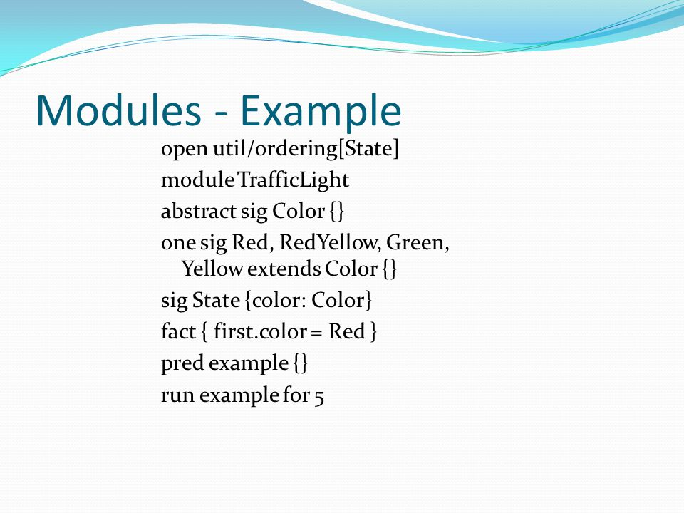 Modules - Example