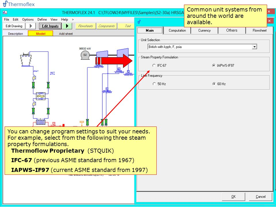 Common unit systems from around the world are available.