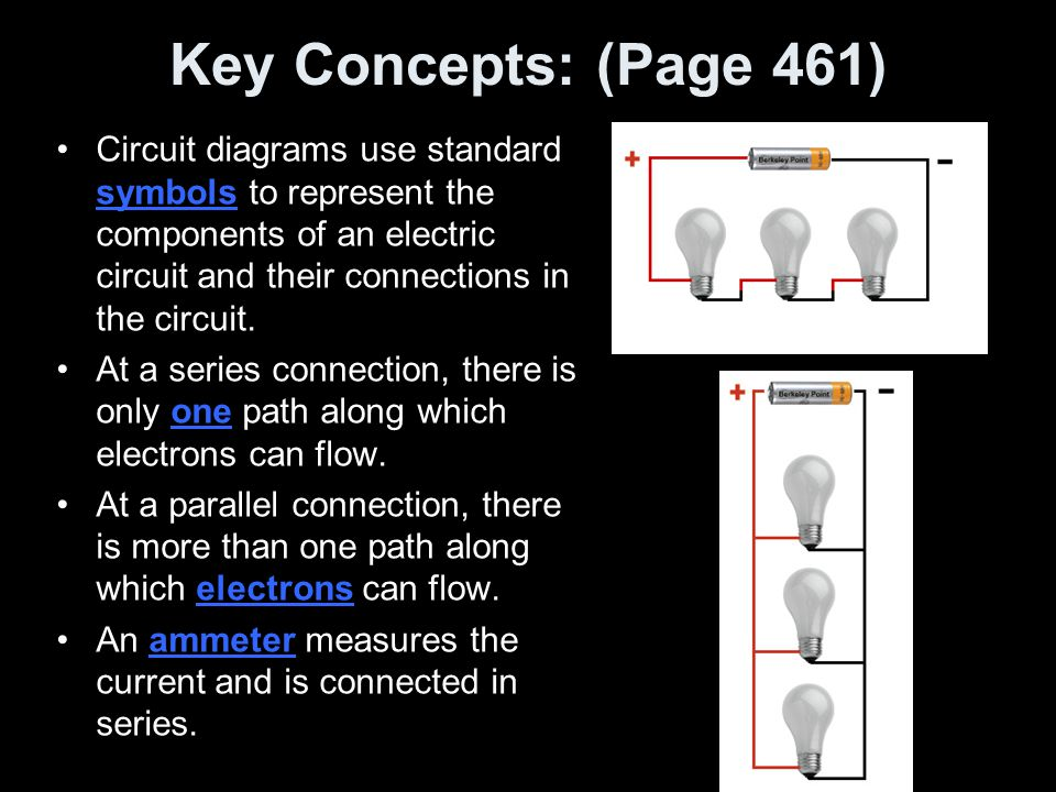 Key Concepts: (Page 461)