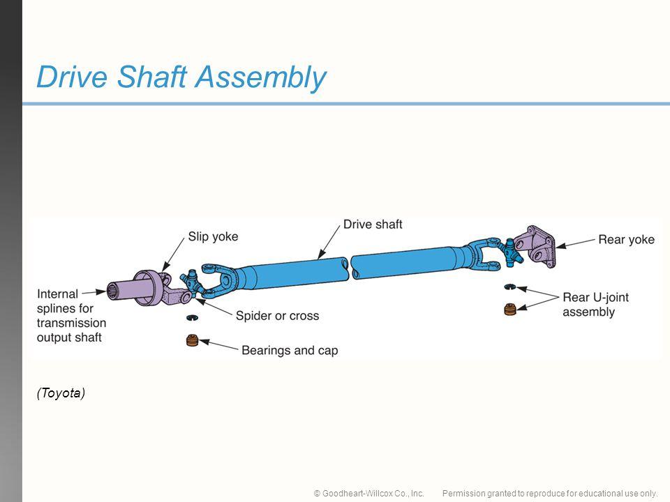 Drive Shaft Assembly (Toyota)