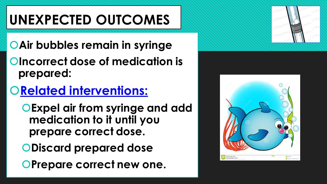 UNEXPECTED OUTCOMES Related interventions: