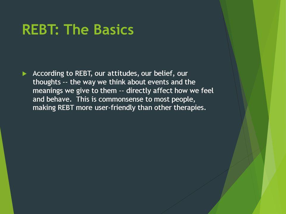 REBT: The Basics
