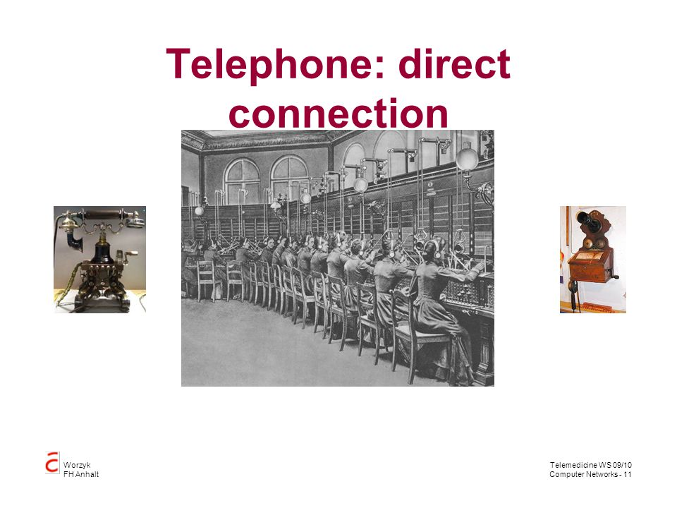 Telephone: direct connection