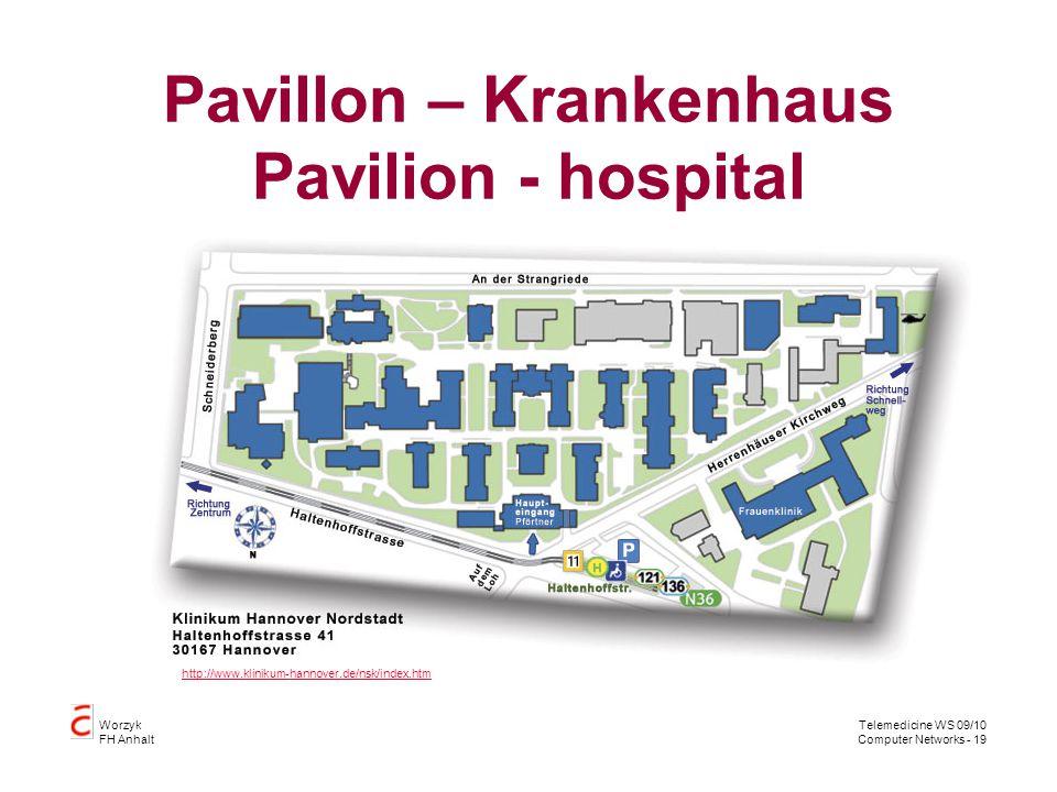 Pavillon – Krankenhaus Pavilion - hospital