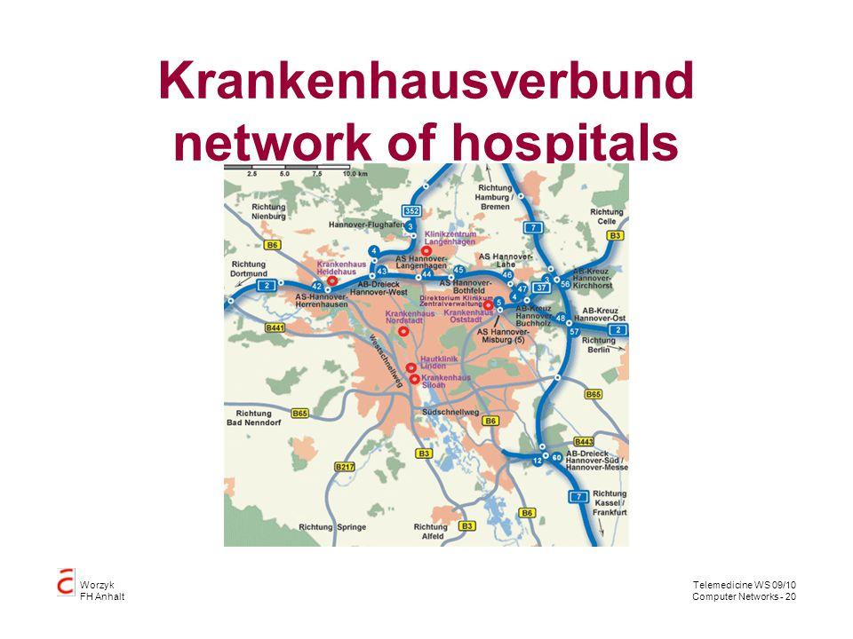 Krankenhausverbund network of hospitals