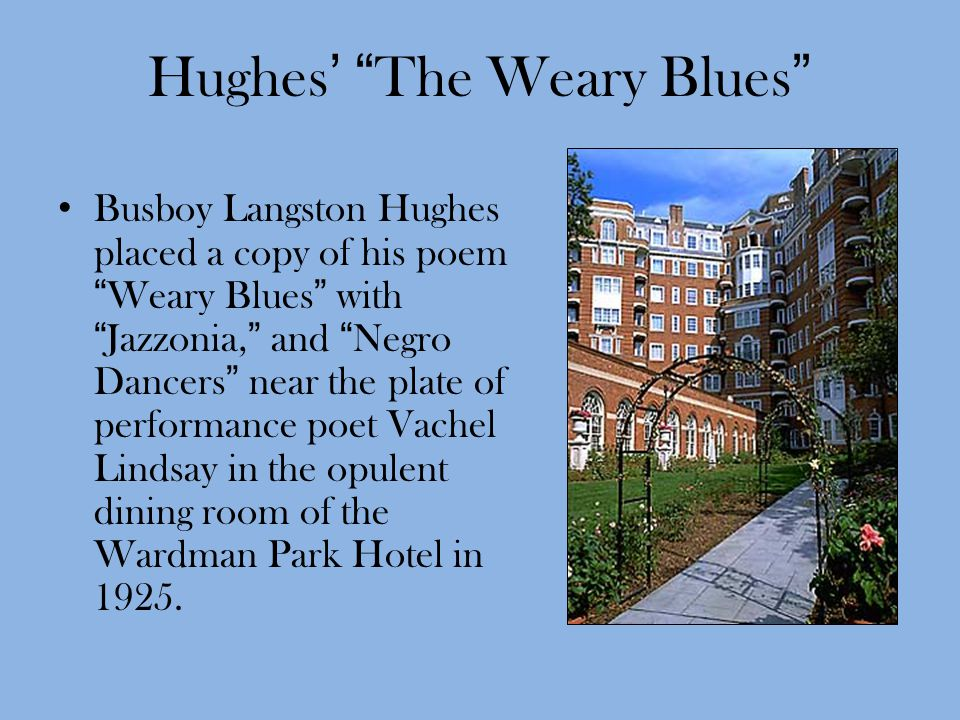 Hughes' The Weary Blues