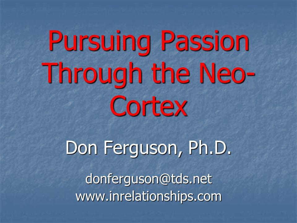 Pursuing Passion Through the Neo-Cortex