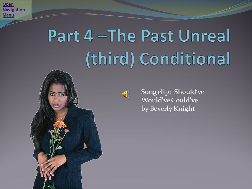 Part 4 –The Past Unreal (third) Conditional