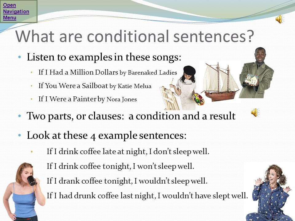 What are conditional sentences