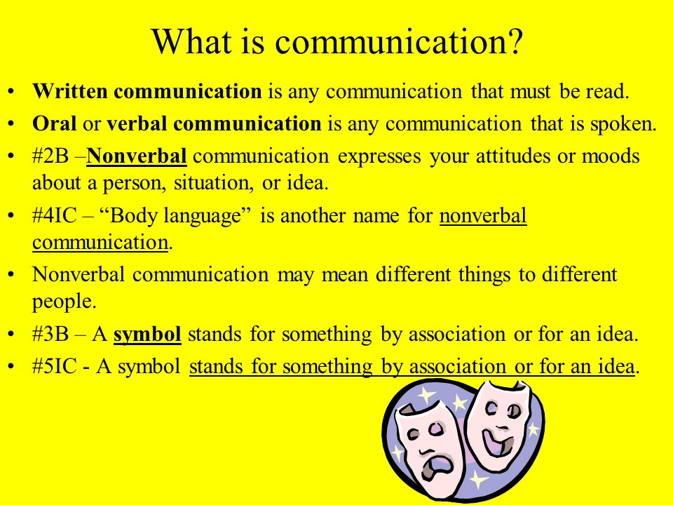 What is communication Written communication is any communication that must be read.