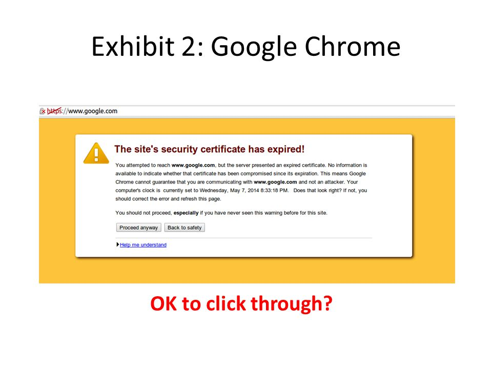 Exhibit 2: Google Chrome