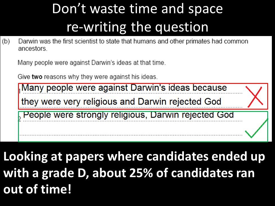 Don't waste time and space re-writing the question