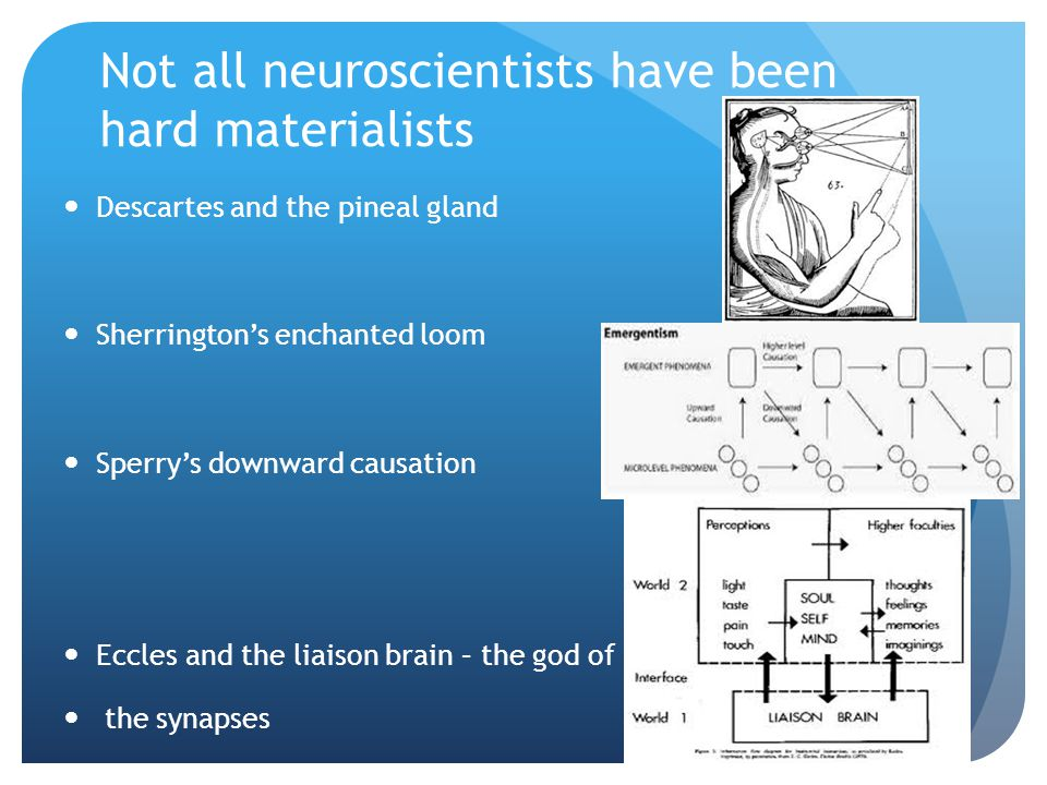 Not all neuroscientists have been hard materialists