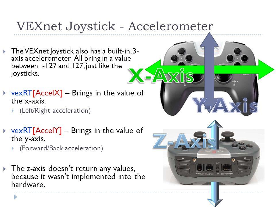 VEXnet Joystick - Accelerometer